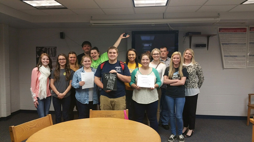 Nicholas County High School yearbook staff recognized for Yearbook Excellence