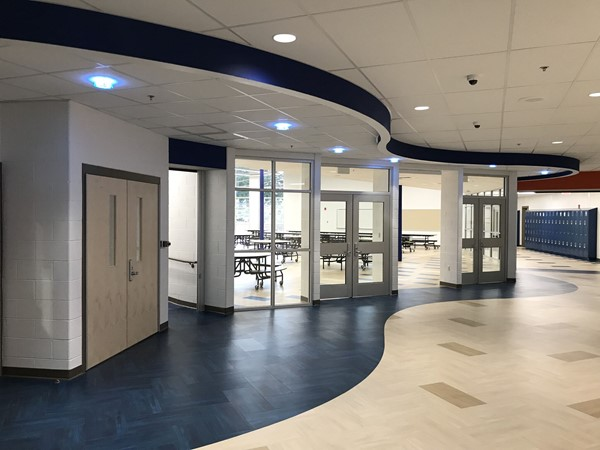 Gym and Cafeteria entrance